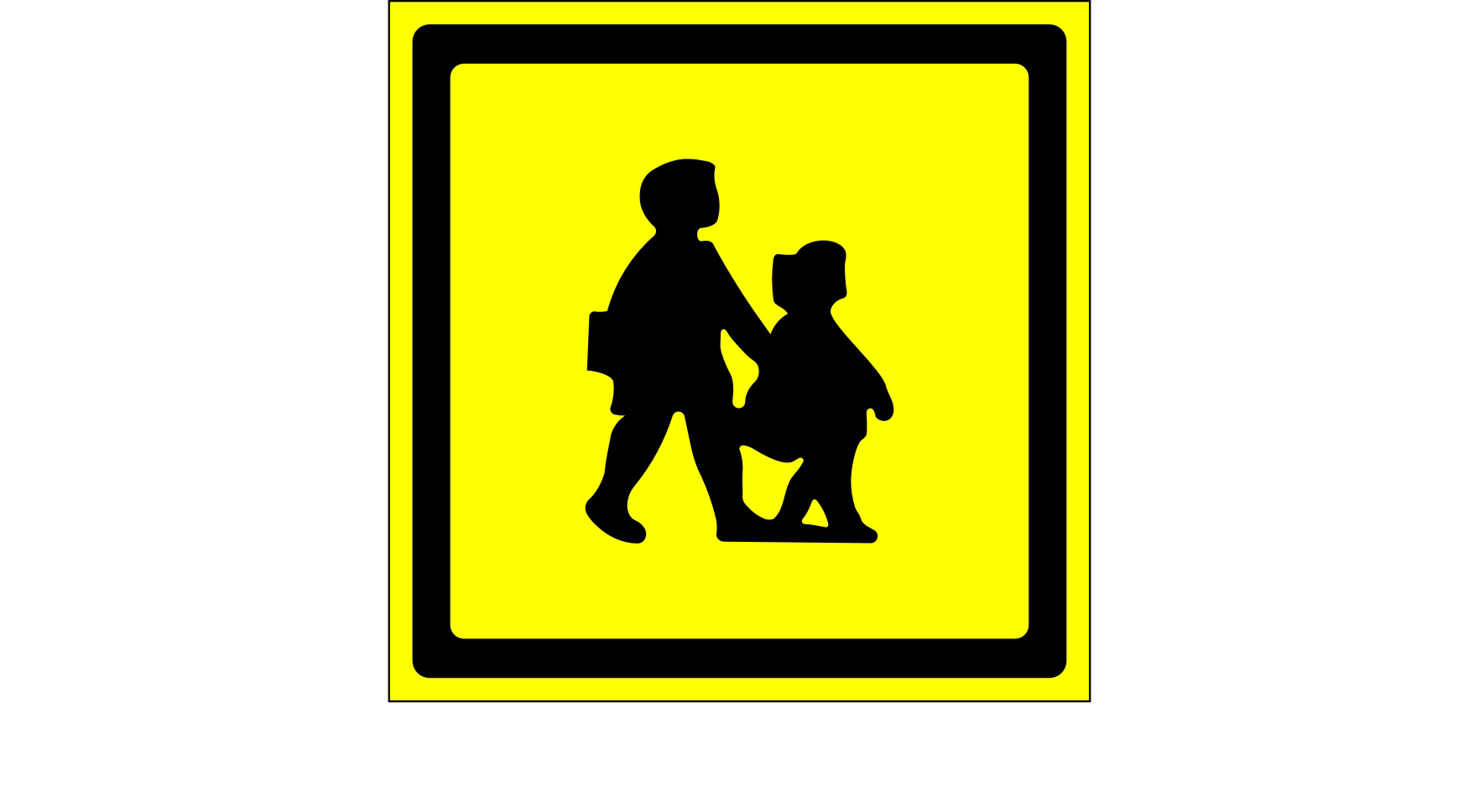 school bus signs rigid and self adhesive reflective and